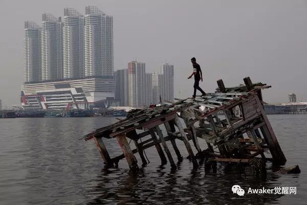 生存或是毁灭?印尼雅加达持续下沉  30年内95%将被淹没