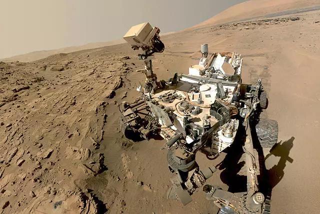 火星上发现的零件 外星人的明确证据?