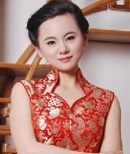 云锦双龙花纹短款旗袍