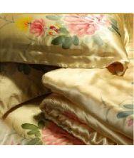 巧之韵重磅真丝四件套床品 套件 100%桑蚕真丝被套 新年礼物