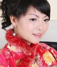 秋冬如梦似幻.新款大红毛边新娘套裙
