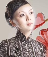 忆装.别致典雅.传统亚麻旗袍