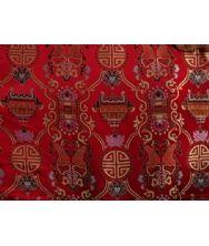 旗袍唐装常用面料