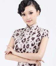 2011冬装新款 巧之韵时尚改良旗袍 幽梦 麂皮绒