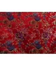 中华唐装旗袍专用面料,传统唐装旗袍专用面料,真丝织锦面料