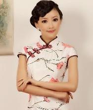春晓 华丽泰丝 巧之韵2012春夏新款时尚改良旗袍