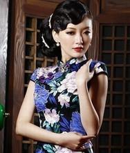 巧之韵 迷情三月 春季复古时尚改良旗袍