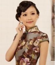 女人花 华丽泰丝 巧之韵时尚改良旗袍