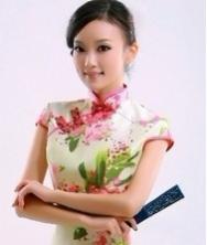花姿 华丽泰丝 巧之韵春季时尚改良旗袍