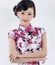 巧之韵 2012时尚改良复古旗袍 春夏季旗袍裙