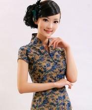 巧之韵 叶簇 中式时尚旗袍上衣 夏季女士唐装