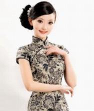 巧之韵 玲珑锦绣 中式唐装女士夏装 时尚改良旗袍上衣