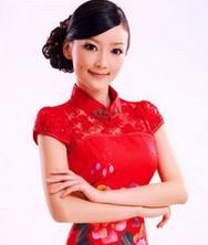 巧之韵 霞荷羽光 红色短款敬酒服 结婚旗袍新娘装礼服