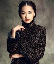 巧之韵 布谷雨 中式新古典羊毛呢时尚改良旗袍 折桂合原创时尚新款羊毛呢子长袖短款旗袍