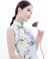 巧之韵 觉醒 新中式三道边旗袍 高雅旗袍