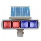 太阳能爆闪灯 太阳能交通信号灯 太阳能指示灯 道路口频闪灯