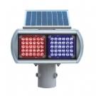 太阳能爆闪灯 太阳能交通信号灯 LED信号灯 道路口频闪灯