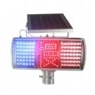 太阳能爆闪灯 太阳能交通信号灯 太阳能红慢爆闪灯 道路口频闪灯