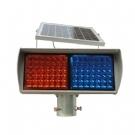 太阳能爆闪灯 太阳能交通信号灯 太阳能红蓝爆闪灯 道路口频闪灯
