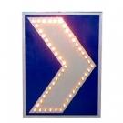 太阳能导向牌 电子导向标牌 太阳能交通标牌 导向指示牌