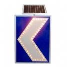 太阳能导向牌 太阳能电子导向标牌 太阳能交通标牌 导向指示牌