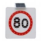 太阳能电子标牌 太阳能限速牌 太阳能禁令牌 太阳能警示牌