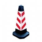 75cm塑料橡胶路锥 路障锥 反光路锥 方形锥 锥形桶