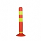 60cm警示柱 诱导柱 弹力柱