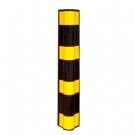 反光圆护角 护墙角 橡胶防撞条 墙角保护器 橡胶护墙角 防撞护角