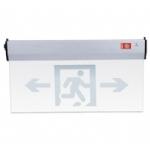 新国标玻璃吊挂标志灯 透明标志灯 消防疏散指示牌 标志牌