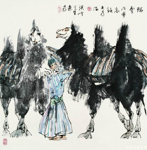 刘大为画8