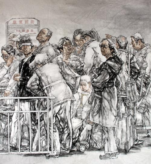 河南省第十二届美展获奖作品