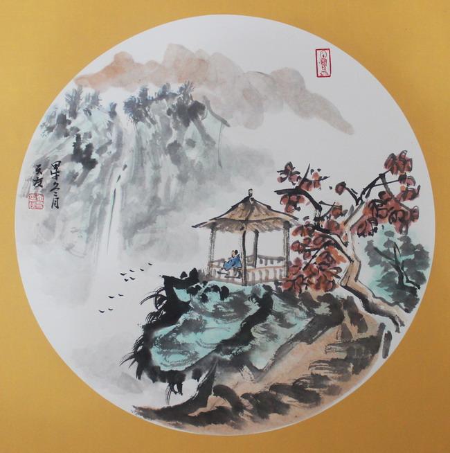闫天友山水画