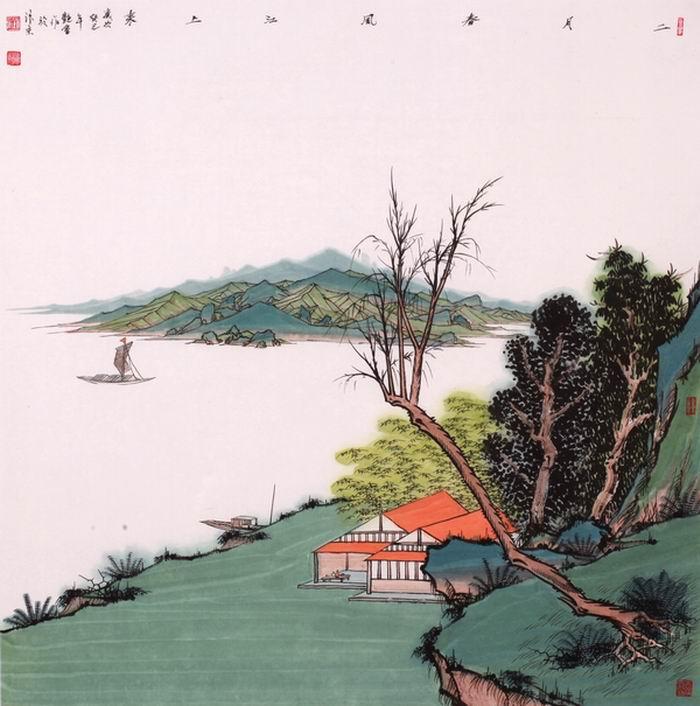 刘艳会画1
