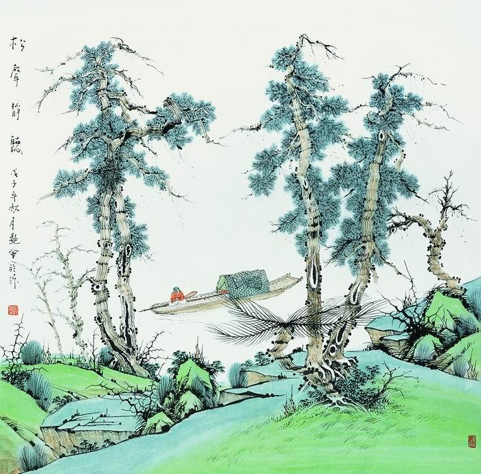 刘艳会画4