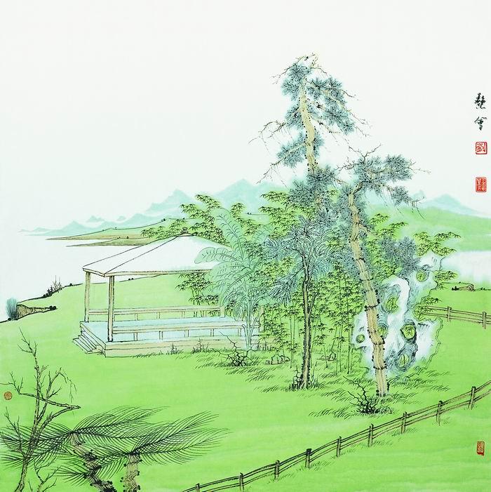 刘艳会画5
