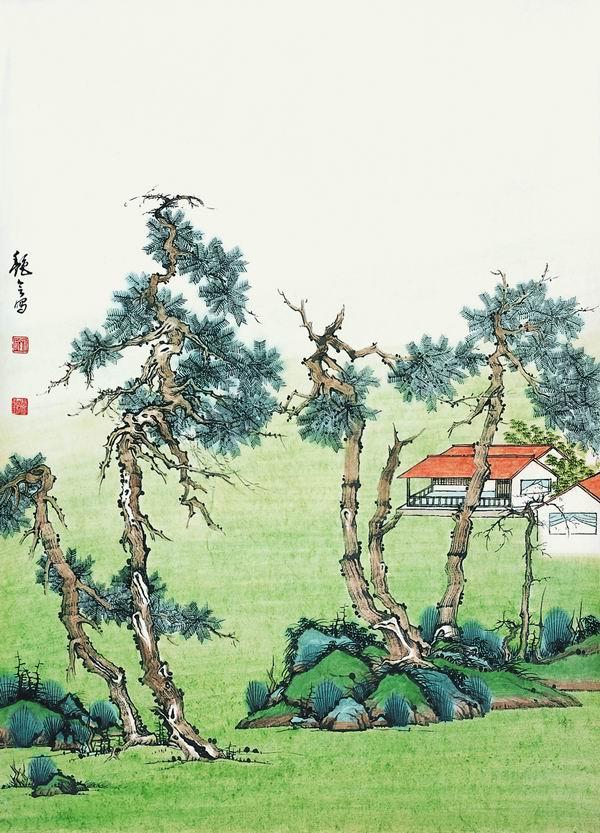 刘艳会画9