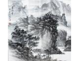 林德坤山水画