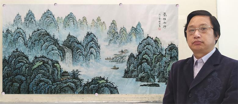 红墙画家陈清泉:向抗击疫情第一线的英雄敬礼!
