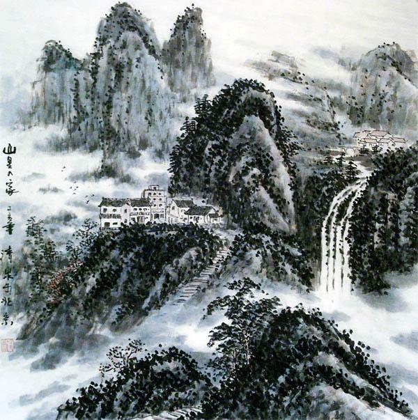 著名画家:陈清泉国画作品欣赏: