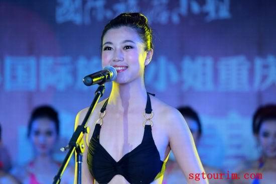 2014年重庆旅游小姐赛区风采