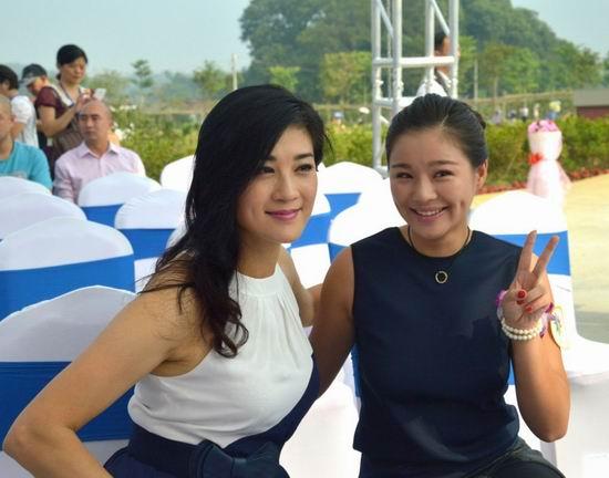 大唐花海9月26日开园 亚洲小姐亲临艳照