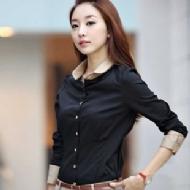 韩版长袖正装衬衫