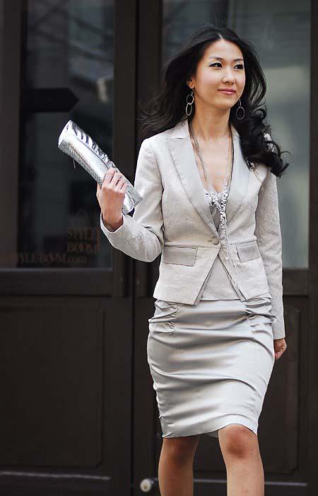 女士正装搭配 做魅力女人 正装定做 西装 西服 正装 衬衫 新郎西服 羊绒