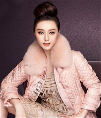 时尚女皇范冰冰的羽绒服写真 完美演绎冬装造型图片