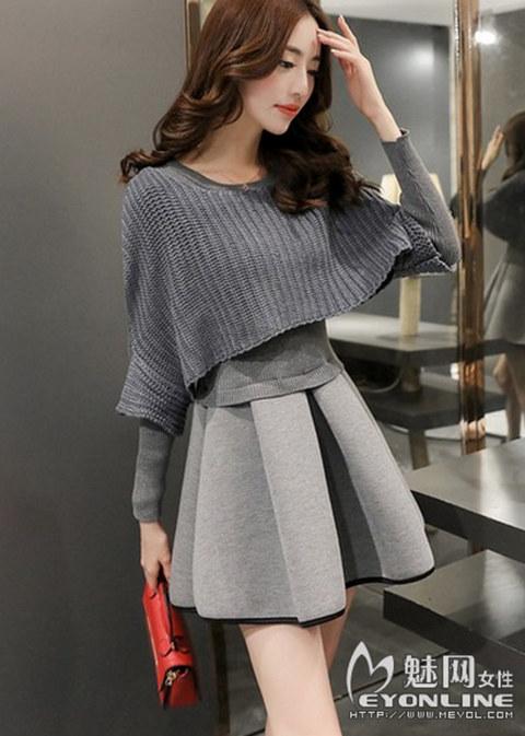 灰色套装时尚搭配 穿出窈窕 彰显自信魅力