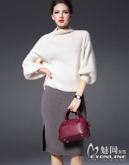 白色毛衣巧搭配 风格造型百变都可以随意打造
