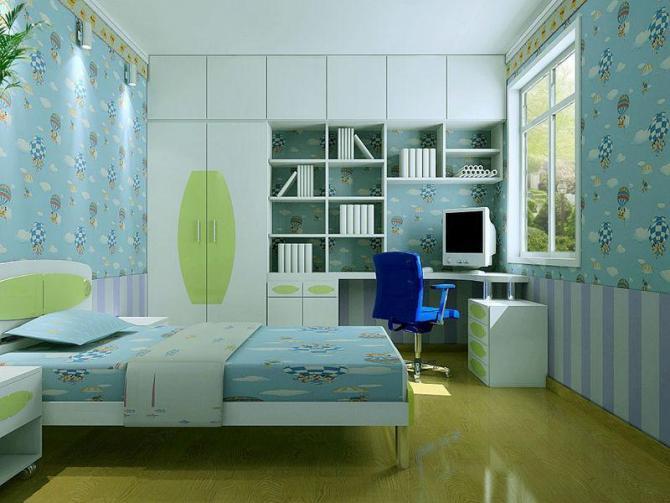 家装设计效果图 单间
