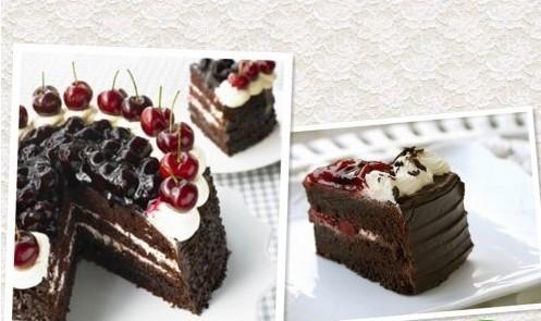 黑森林蛋糕图片/蛋糕培训学校找刘科元