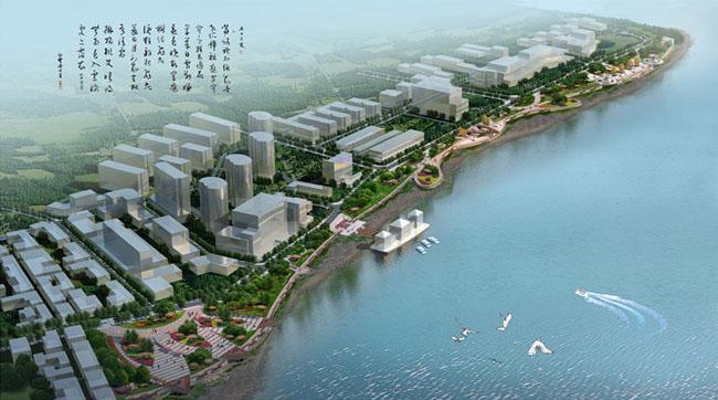 荻港滨江公园景观设计图片
